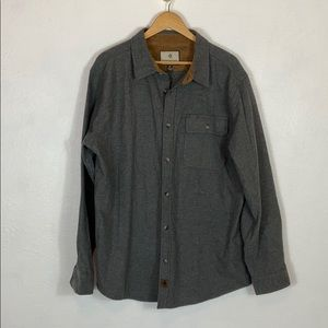 legendary white tails flannel button shirt XL